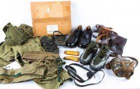 Mixed Lot Of Military Uniform Items