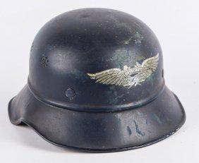 Wwii German Luftschutz Helmet