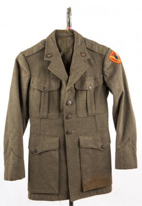 Wwii Usmc Named Uniform Jacket 5th Marines