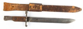 Wwii Us Ross Rifle Co Bayonet