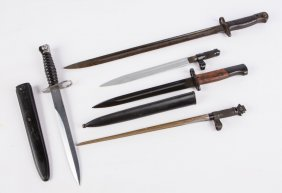 Bayonet Lot Of 5