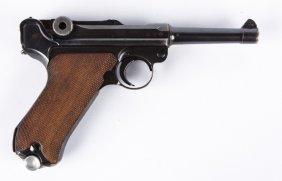 Wwii German 1937 S/42 Luger P08 Pistol