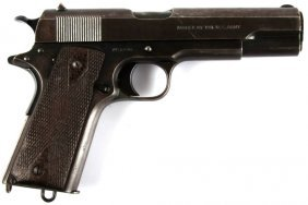Wwi Colt Model 1911 Us Property Marked 1917