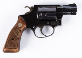 Smith & Wesson Model 36 No Dash Pinned