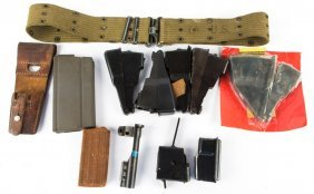 Lot Of Firearm Magazines And Accessories
