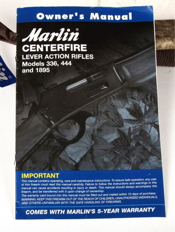 MARLIN MODEL 336W LEVER ACTION RIFLE 30/30 - 7