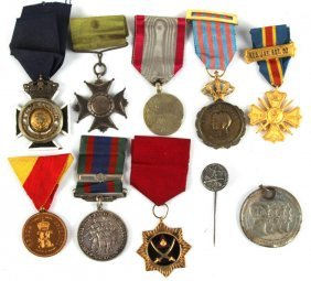 Mixed Lot Of Military Medals