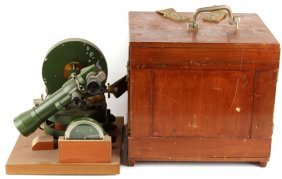Wwii Japanese Cased Mikasa Surveying Instrument