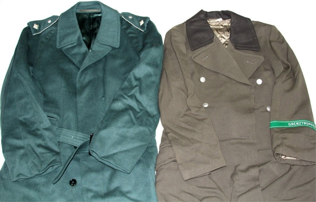 COLD WAR GERMAN TRENCH COAT LOT OF 4 - 2