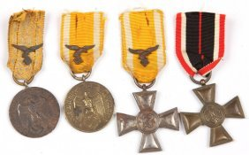 Wwii German Medal Lot Of 4