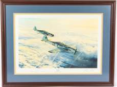 ROBERT TAYLOR SWANSONG PRINT SIGNED BY PILOT