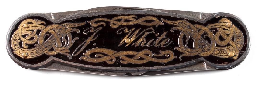 POCKET KNIFE OF BRIGADIER GENERAL JULIUS WHITE