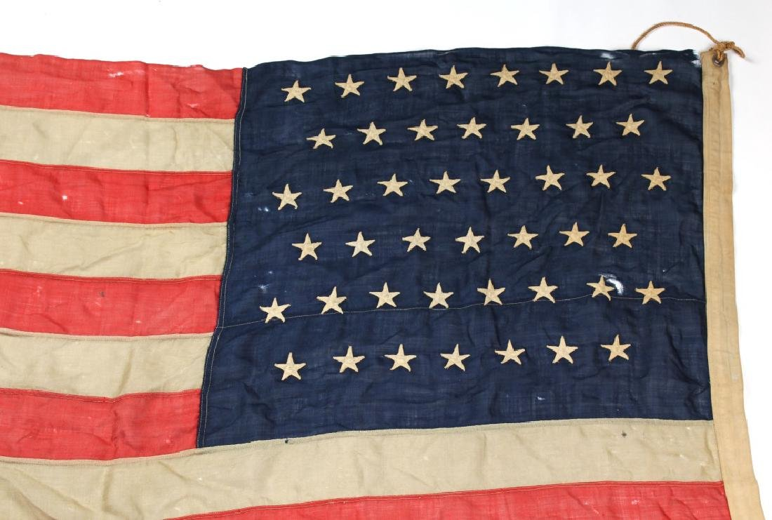 SPANISH AMERICAN WAR 45 STAR US FLAG - 10