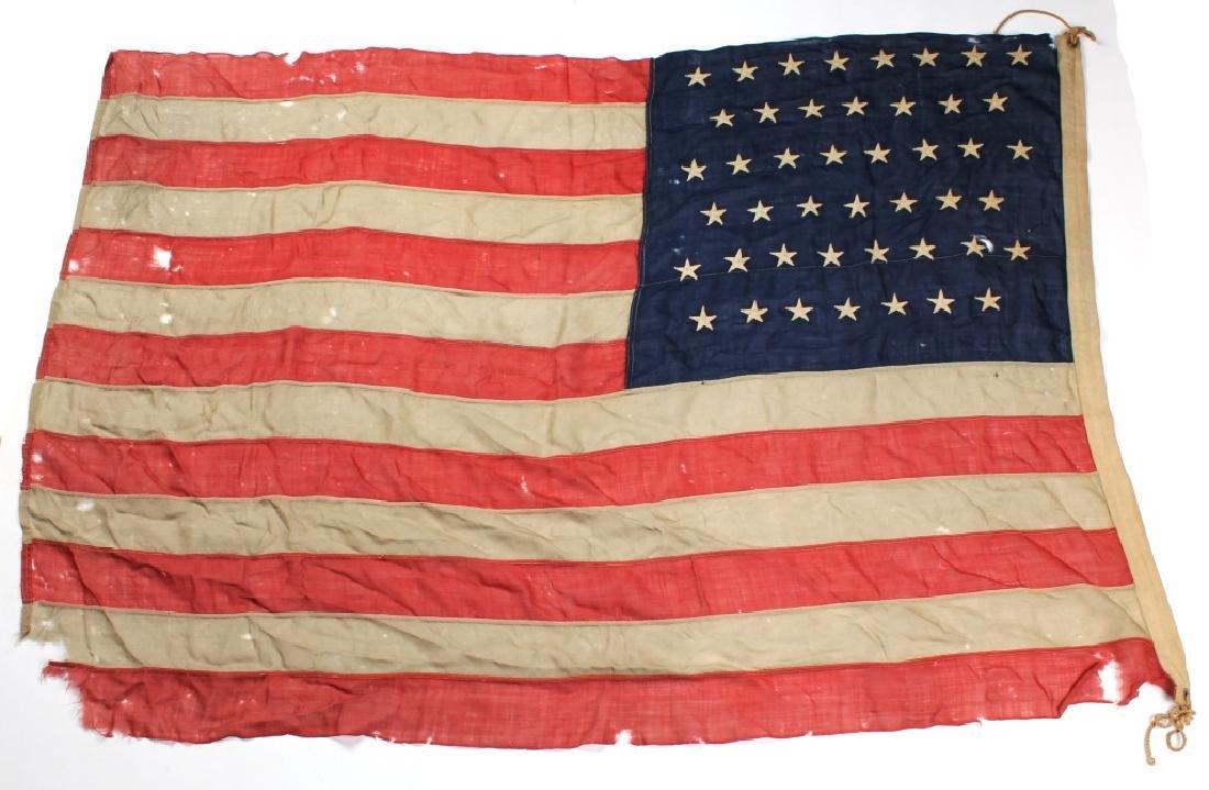 SPANISH AMERICAN WAR 45 STAR US FLAG - 2