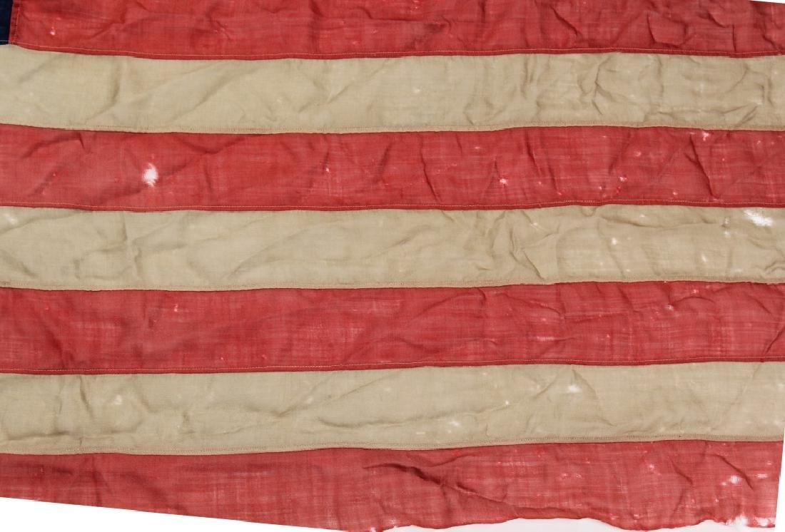SPANISH AMERICAN WAR 45 STAR US FLAG - 4