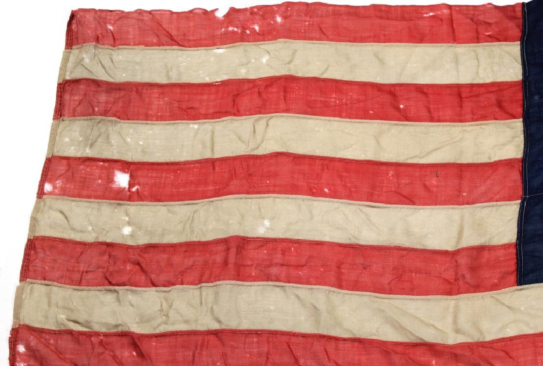 SPANISH AMERICAN WAR 45 STAR US FLAG - 7