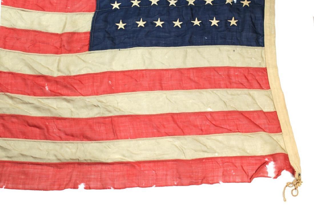 SPANISH AMERICAN WAR 45 STAR US FLAG - 9
