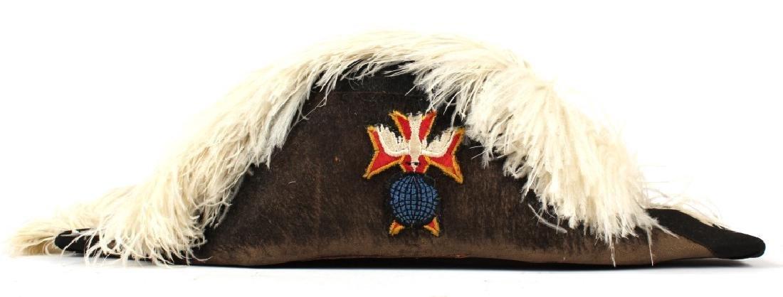 KNIGHTS OF COLUMBUS BICORN HAT - 3