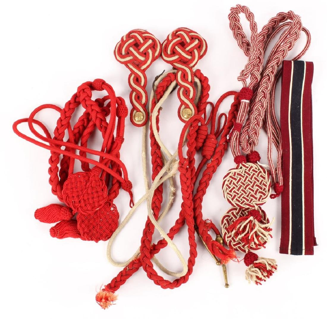 US DRESS AIGUILLETTE LOT
