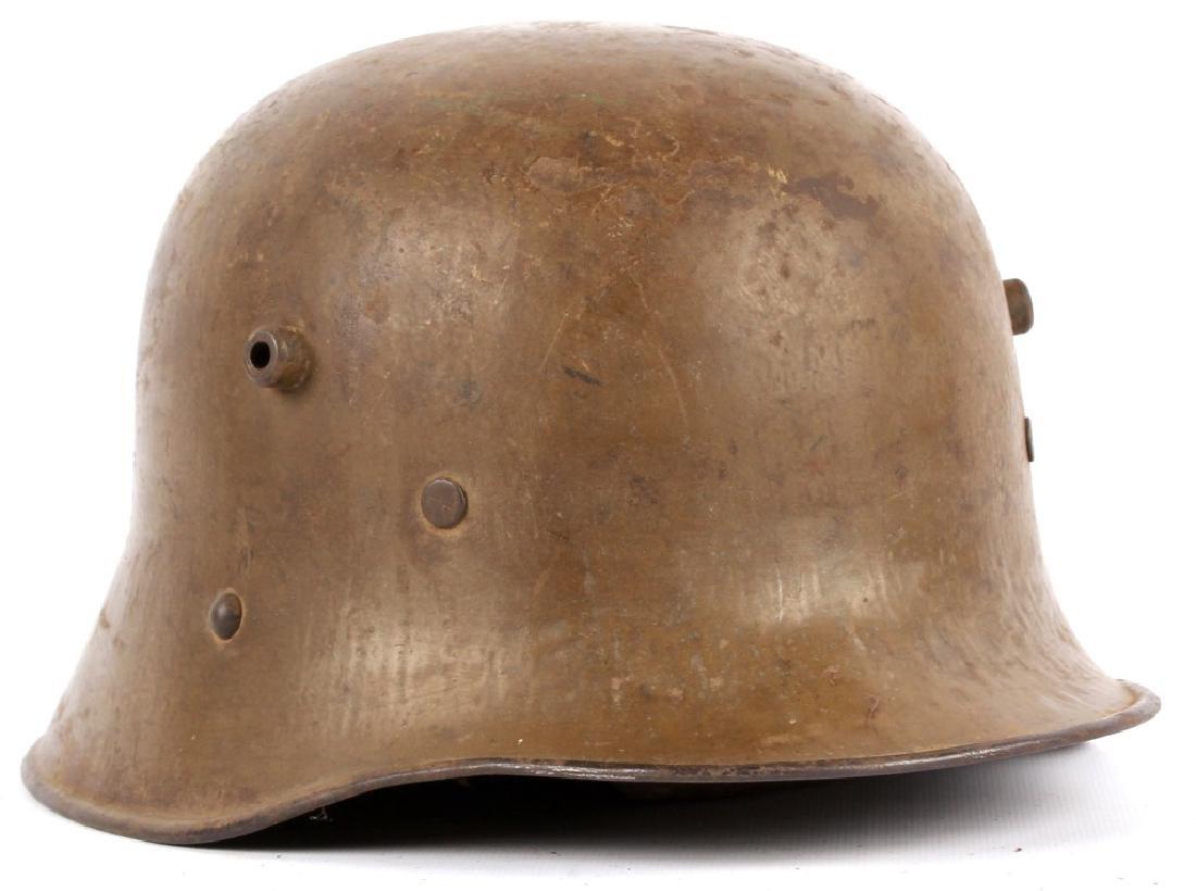 WWI AUSTRIAN M1916 HELMET