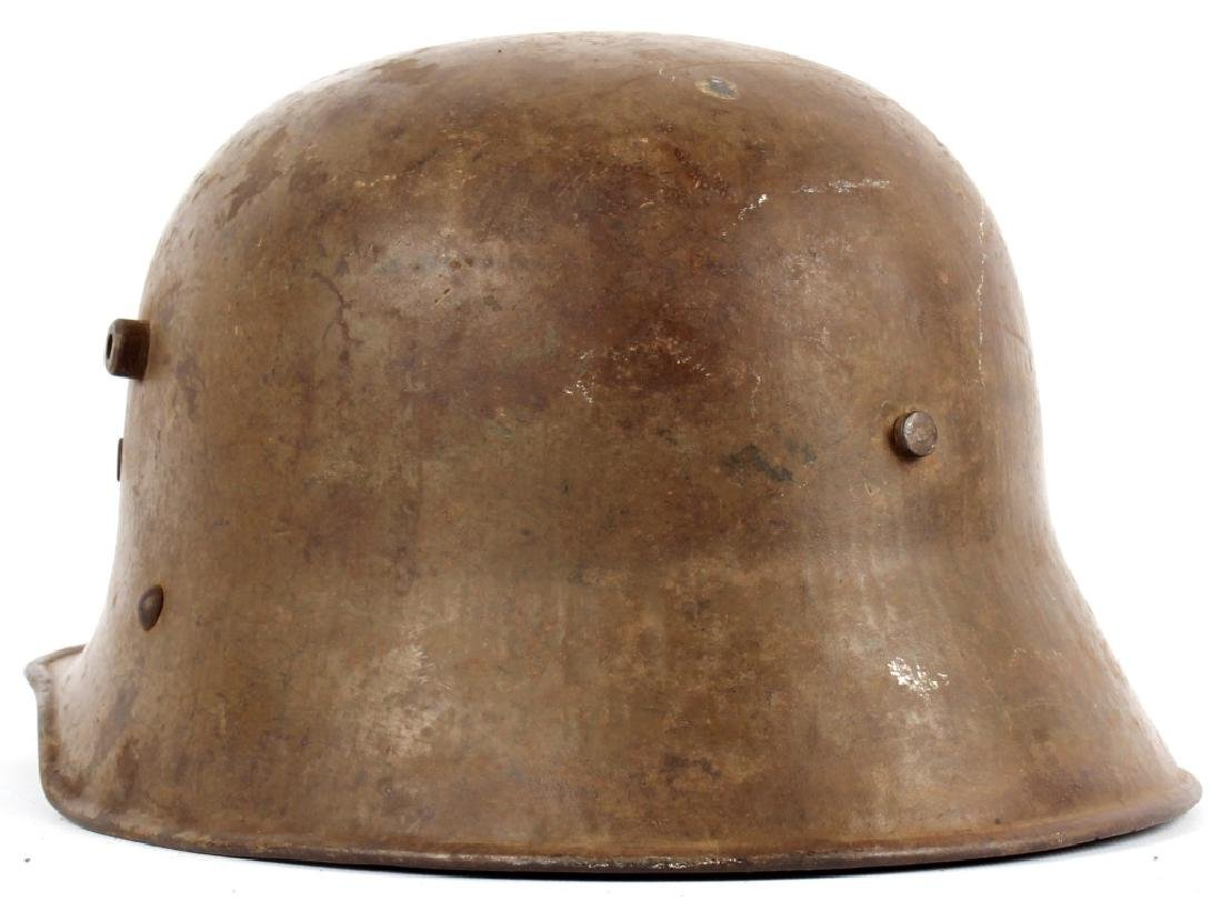WWI AUSTRIAN M1916 HELMET - 2