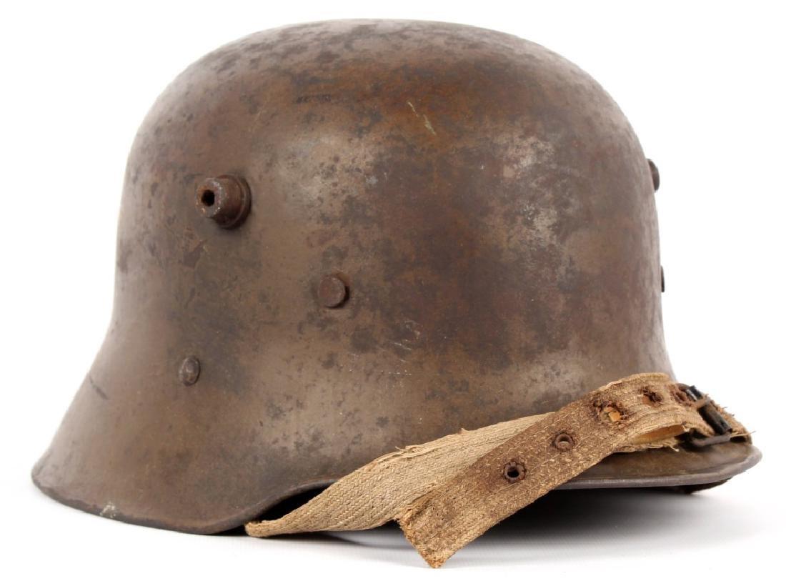 WWI AUSTRIAN M18 HELMET