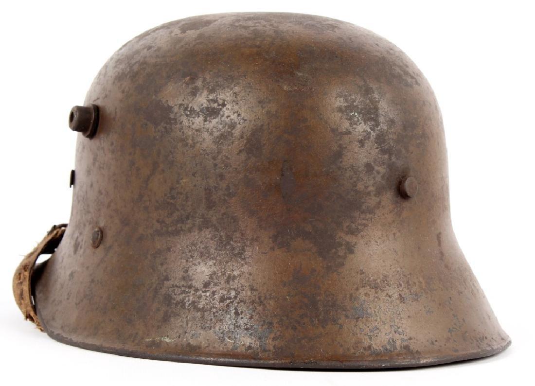 WWI AUSTRIAN M18 HELMET - 2