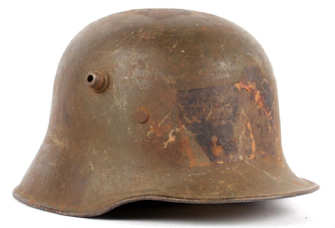 WWI GERMAN M1918 HELMET