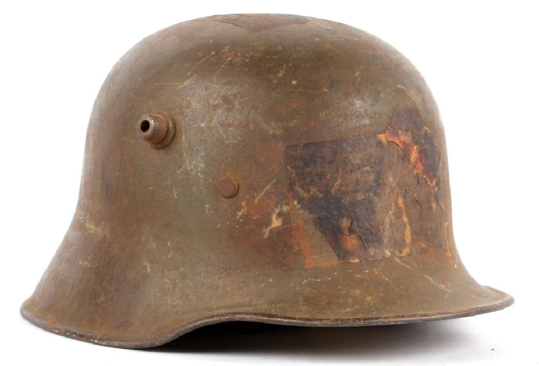 WWI GERMAN M1918 HELMET