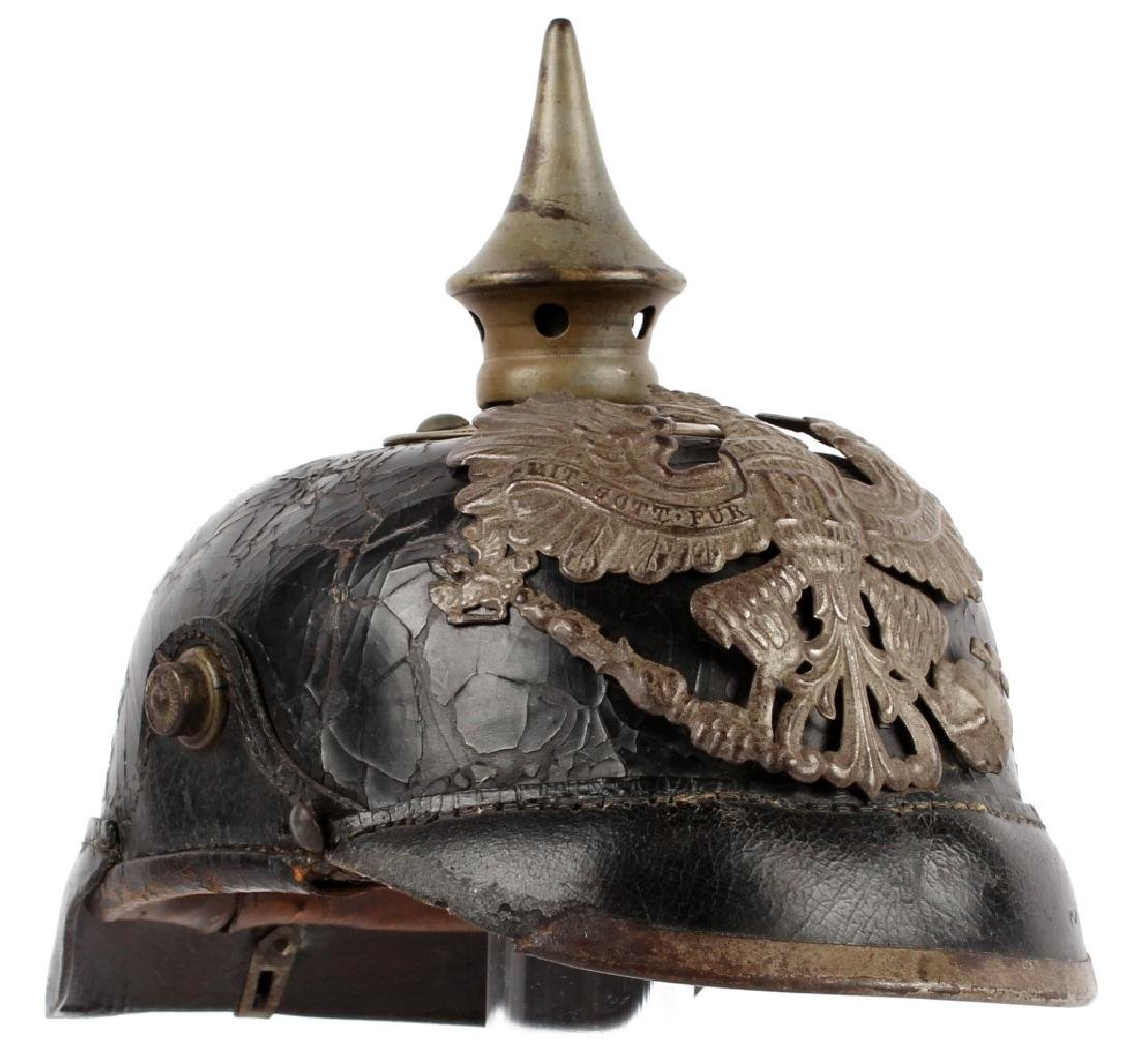 WWI PRUSSIAN PICKELHAUBE HELMET