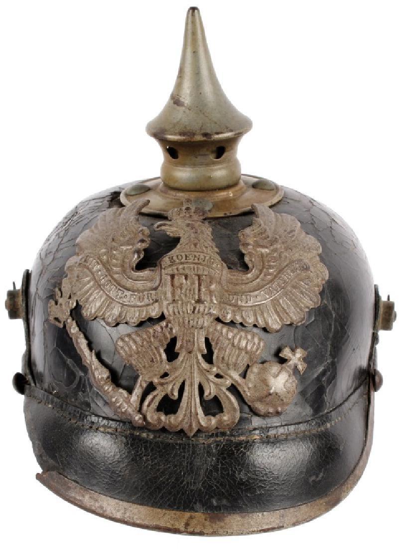 WWI PRUSSIAN PICKELHAUBE HELMET - 2