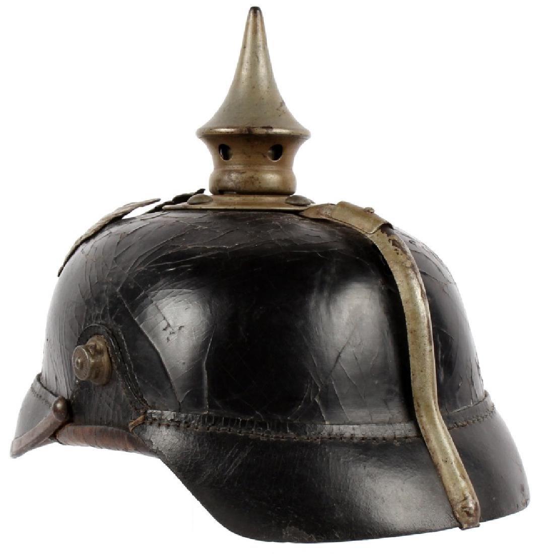 WWI PRUSSIAN PICKELHAUBE HELMET - 3