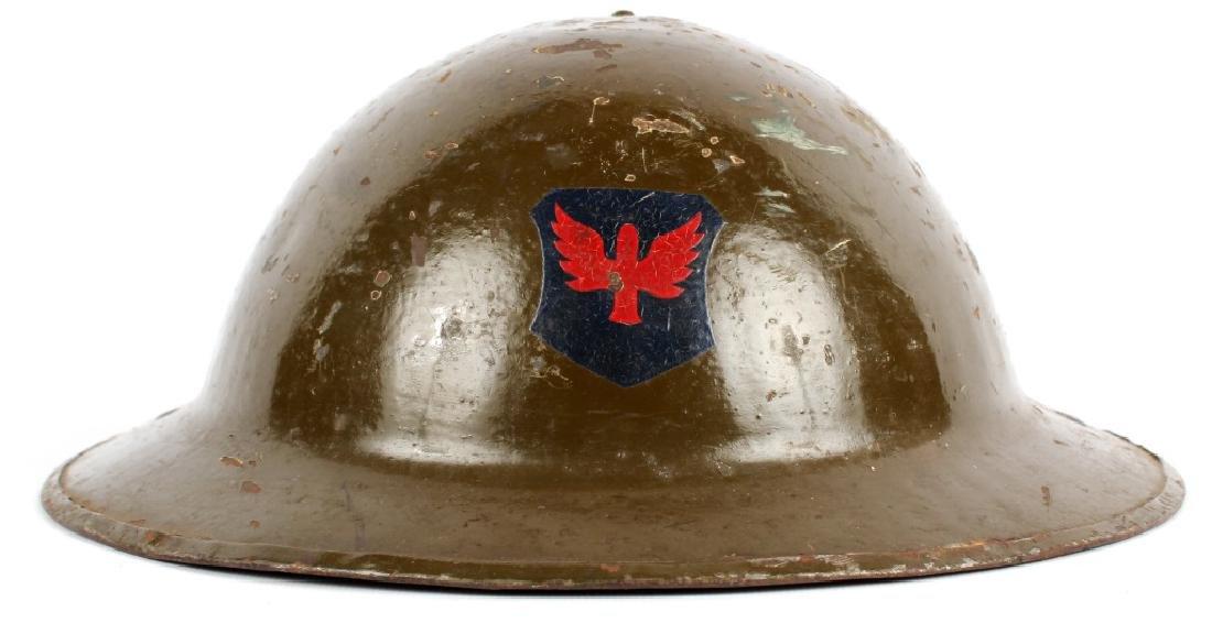 1917 ILLINOIS NATIONAL GUARD BRODIE HELMET