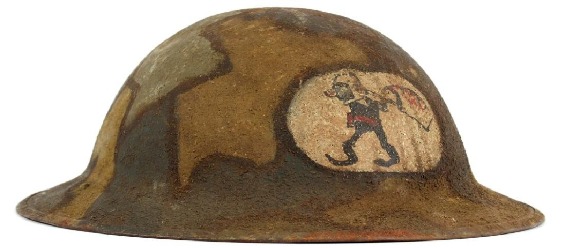 NAMED WWI 2ND ARMY 25TH AIR SERVICE HELMET