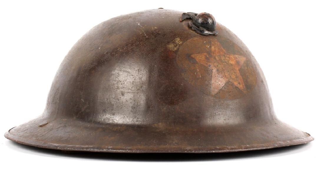 WWI USMC 2ND DIVISION HELMET