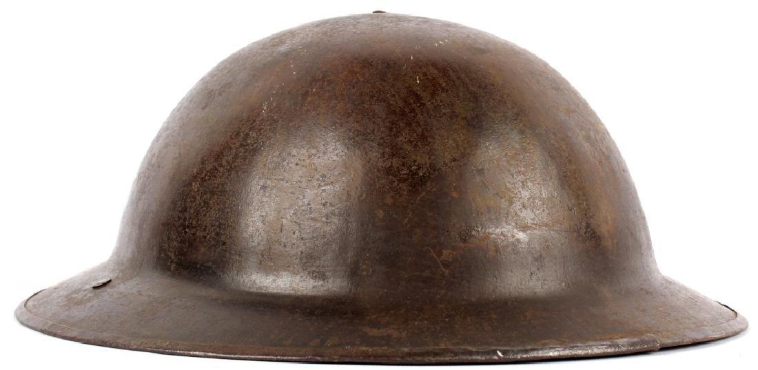 WWI USMC 2ND DIVISION HELMET - 3