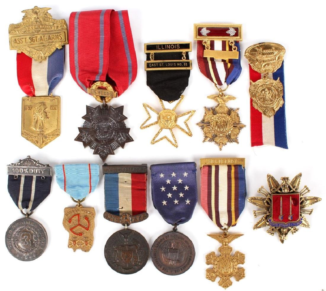 US MEDAL LOT OF 11