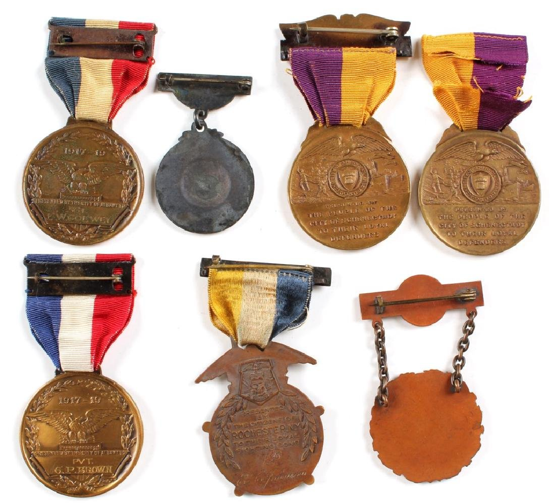 WWI MEDAL LOT OF 7 - 2