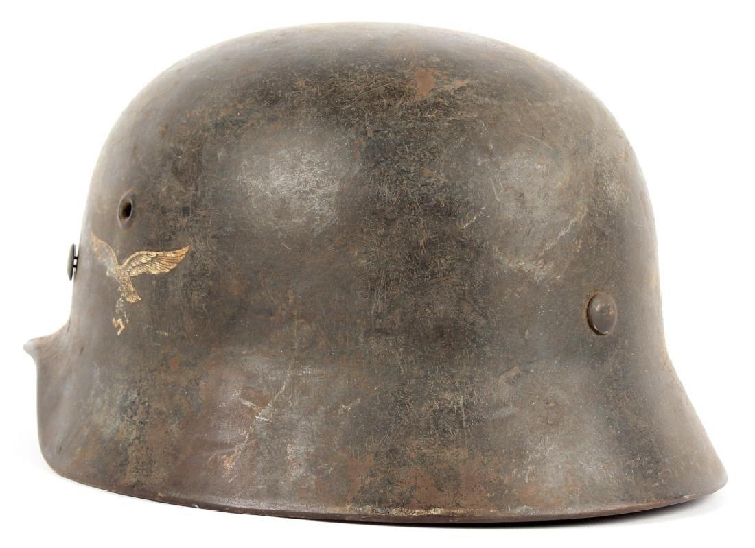 WWII GERMAN LUFTWAFFE HELMET 35/40 - 2