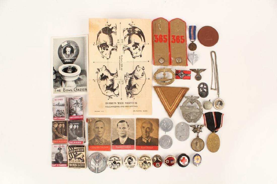 WWII GERMAN LOT OF MILITARIA - 2