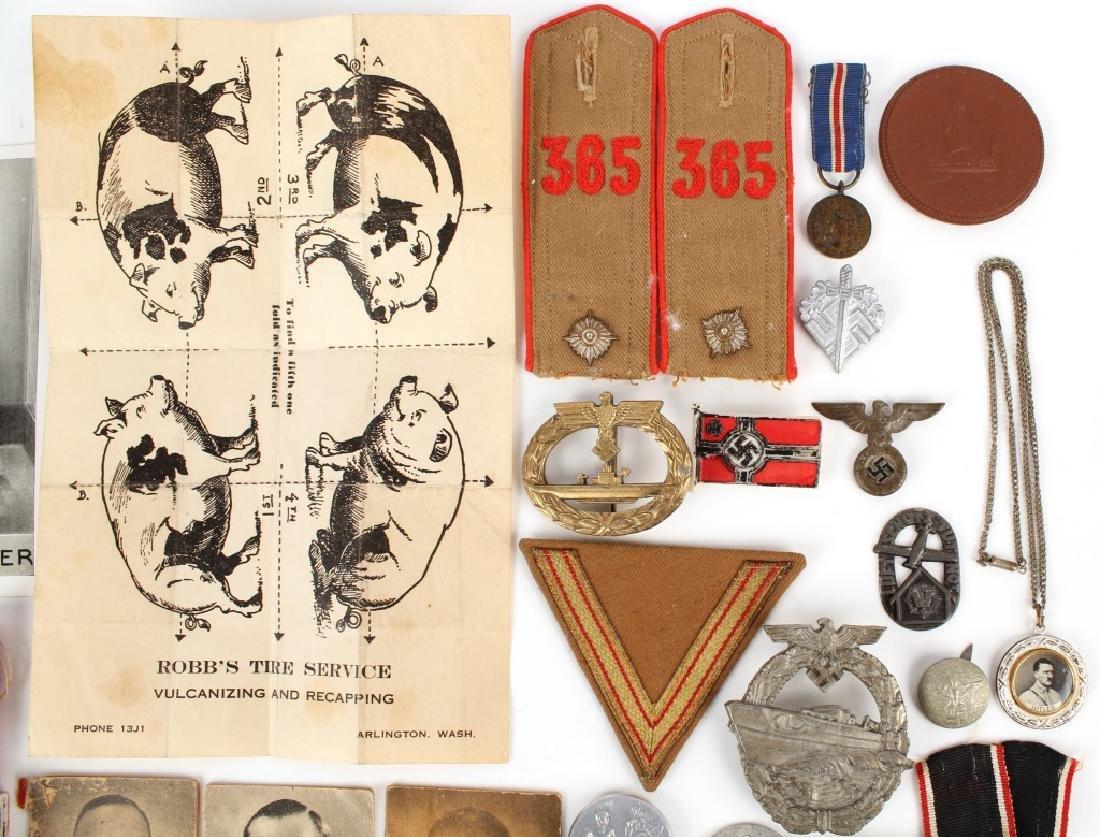 WWII GERMAN LOT OF MILITARIA - 4