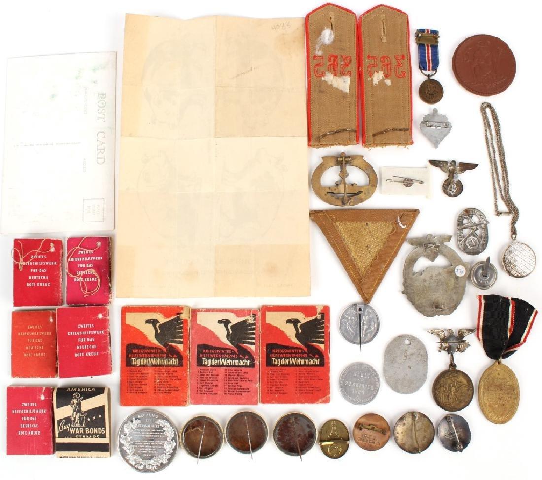 WWII GERMAN LOT OF MILITARIA - 7