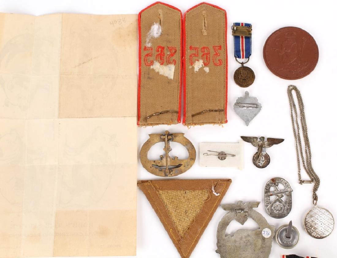 WWII GERMAN LOT OF MILITARIA - 9