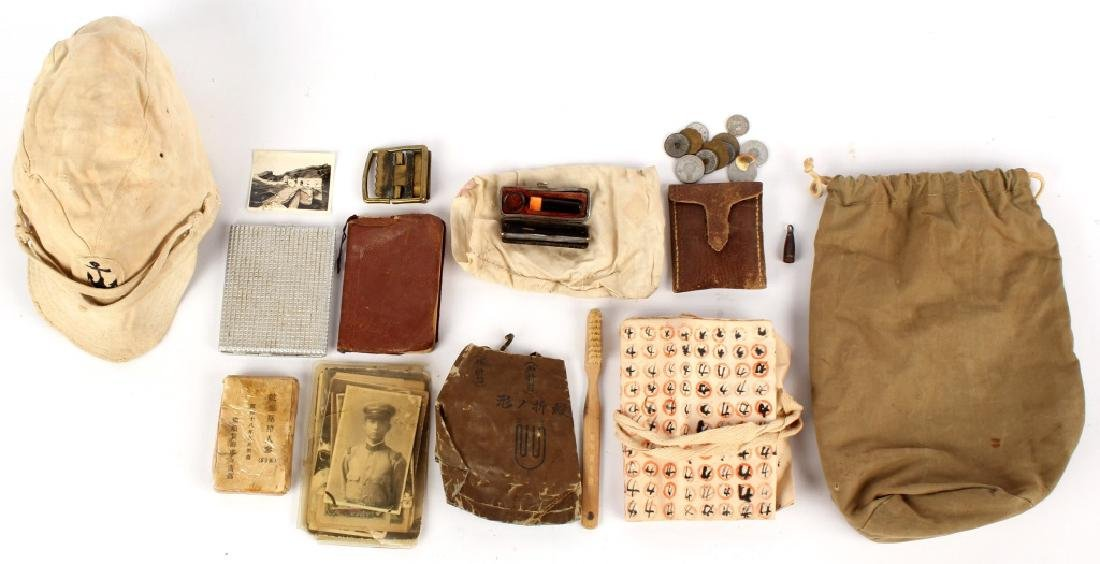 WWII JAPANESE ITEMS BROUGHT BACK BY LL DALEY