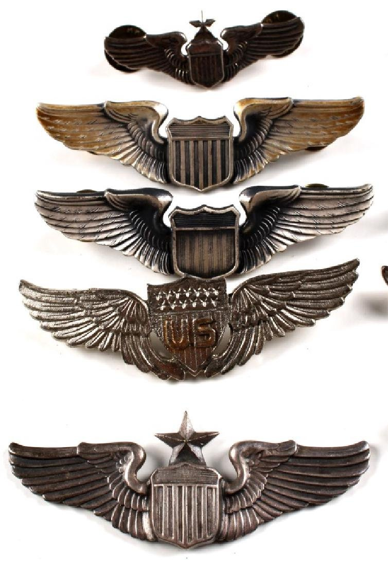 WWII US WINGS PIN LOT OF 18 - 3