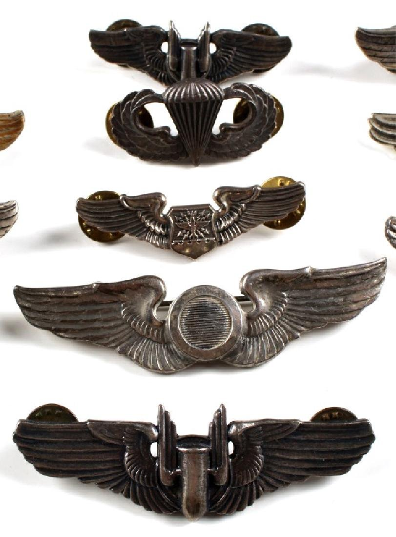 WWII US WINGS PIN LOT OF 18 - 4
