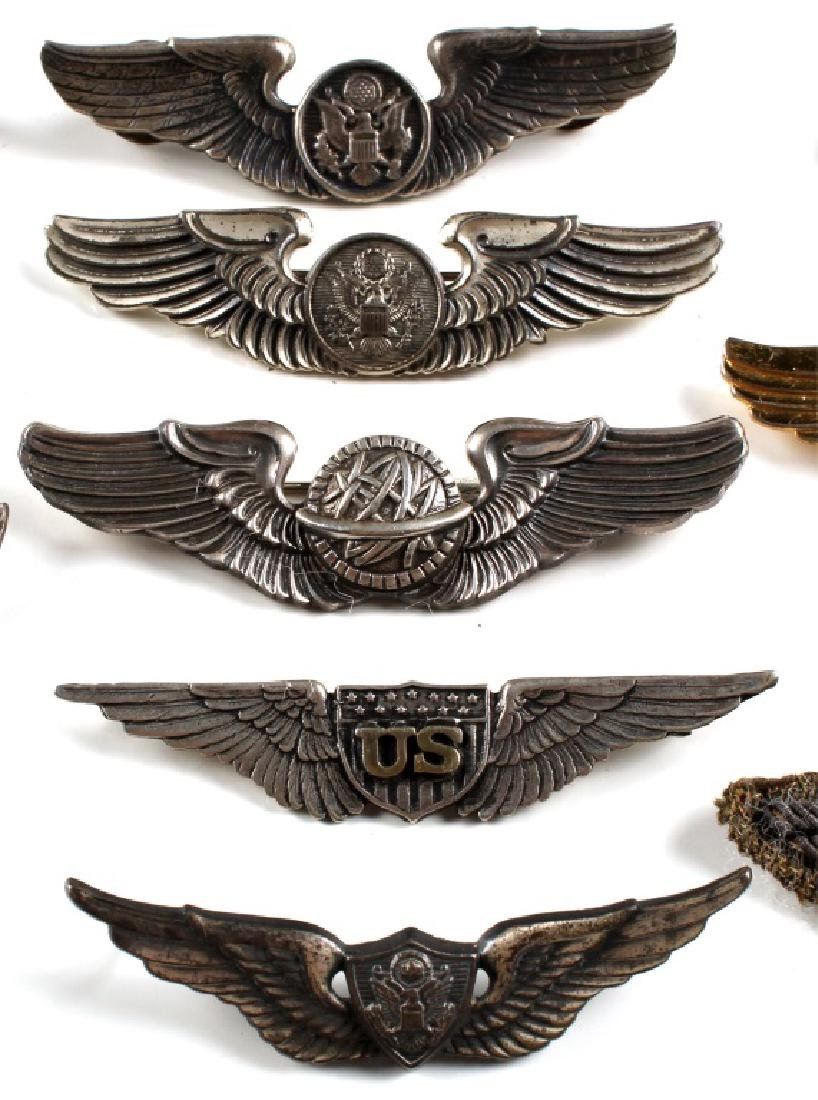 WWII US WINGS PIN LOT OF 18 - 5