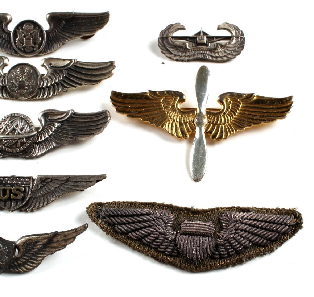 WWII US WINGS PIN LOT OF 18 - 6