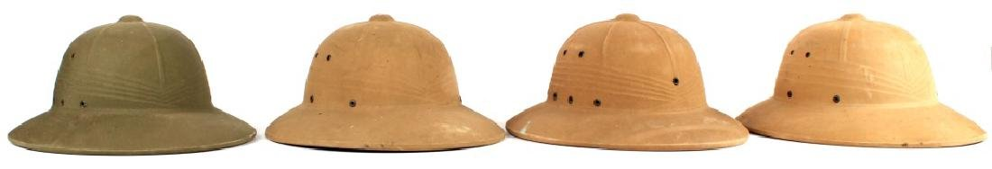 PITH HELMET LOT OF 4 - 2