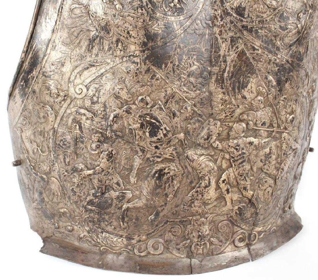 ANTIQUE REPOUSSE ARMOR BREASTPLATE - 5